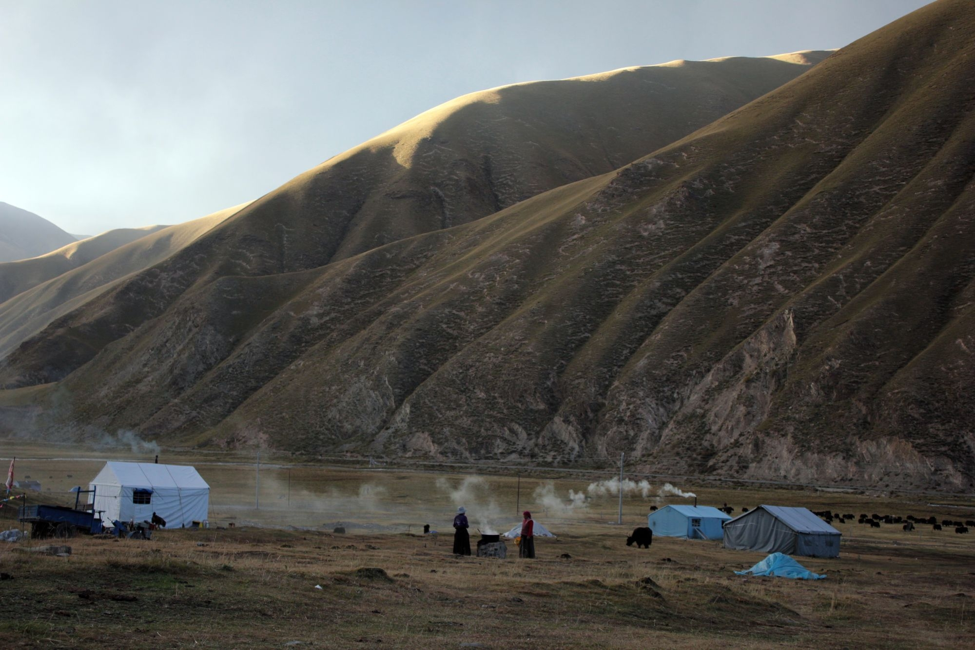Air-thirst and Tsampa, aka Our Adventures on the Tibetan Plateau.  NiHao QingHai!  Part Two.